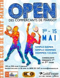 Tennis : open des commerçants ce week-end