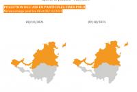 Pollution de l'air : niveau orange déclenché