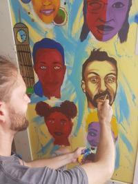 L'autoportrait, thème d'un projet artistique global